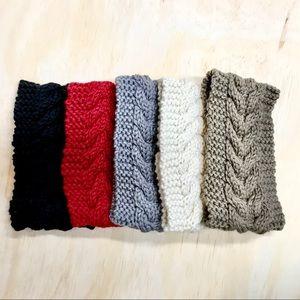 Adult winter headbands